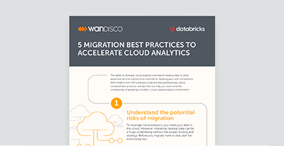 5 Migration Best Practices to Accelerate Cloud Analytics with WANdisco and Databricks