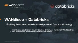 Enabling the move to a modern cloud powered Data and AI strategy with WANdisco + Databricks.