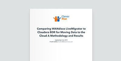 Comparing WANdisco LiveMigrator to Cloudera BDR for Moving Data to the Cloud